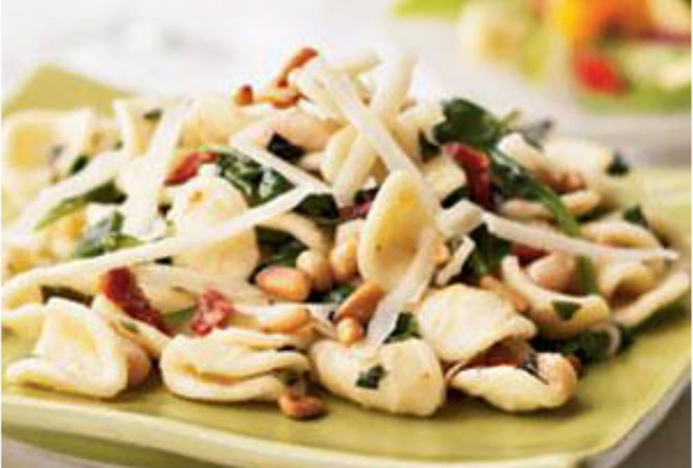 Pasta with White Bean and Greens